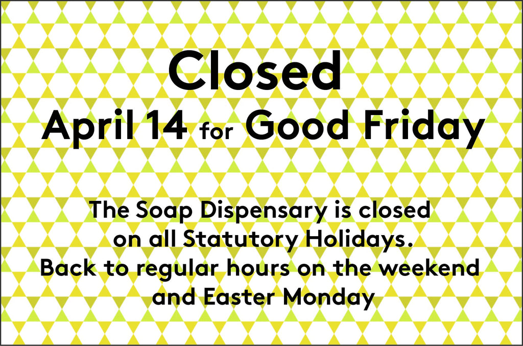 Closed for Good Friday