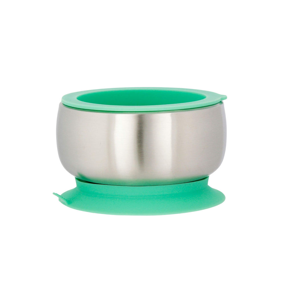 Bowl + Lid Sets Stainless Steel Suction