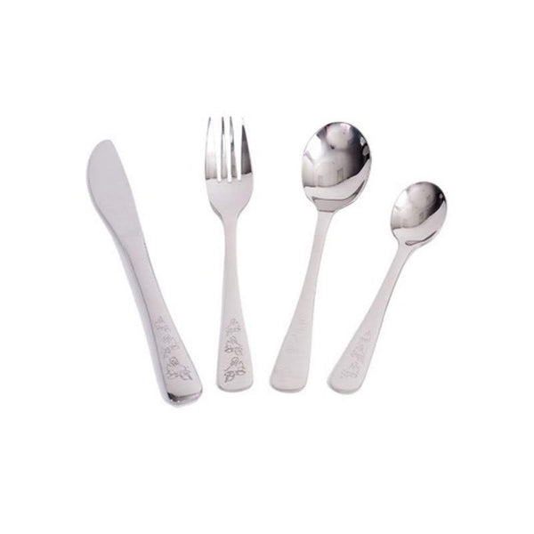 Duckies Cutlery Set Children's Onyx