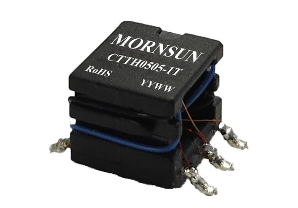 Mornsun 6000VDC High Isolation Automotive Transformer CTTH0505