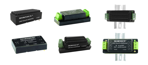 Mornsun's URE1D_LD-20WR3 series DC/DC Converters with EN50155 Rail Compliance