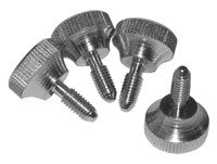"Nickel Plated Thumb Screws (10-32 x 0.5"")"