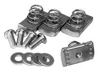 "Spring Loaded Nuts (1/4-20) and Bolts (1/4-20 x 0.62"")"