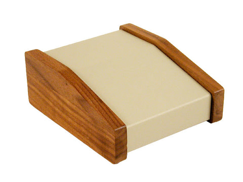 1456 CWW Series - Sloped Consoles - Aluminium / Walnut Sides