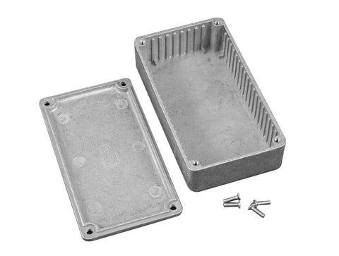 1590 Series - PC Board Mounting Ribs - Diecast Aluminium