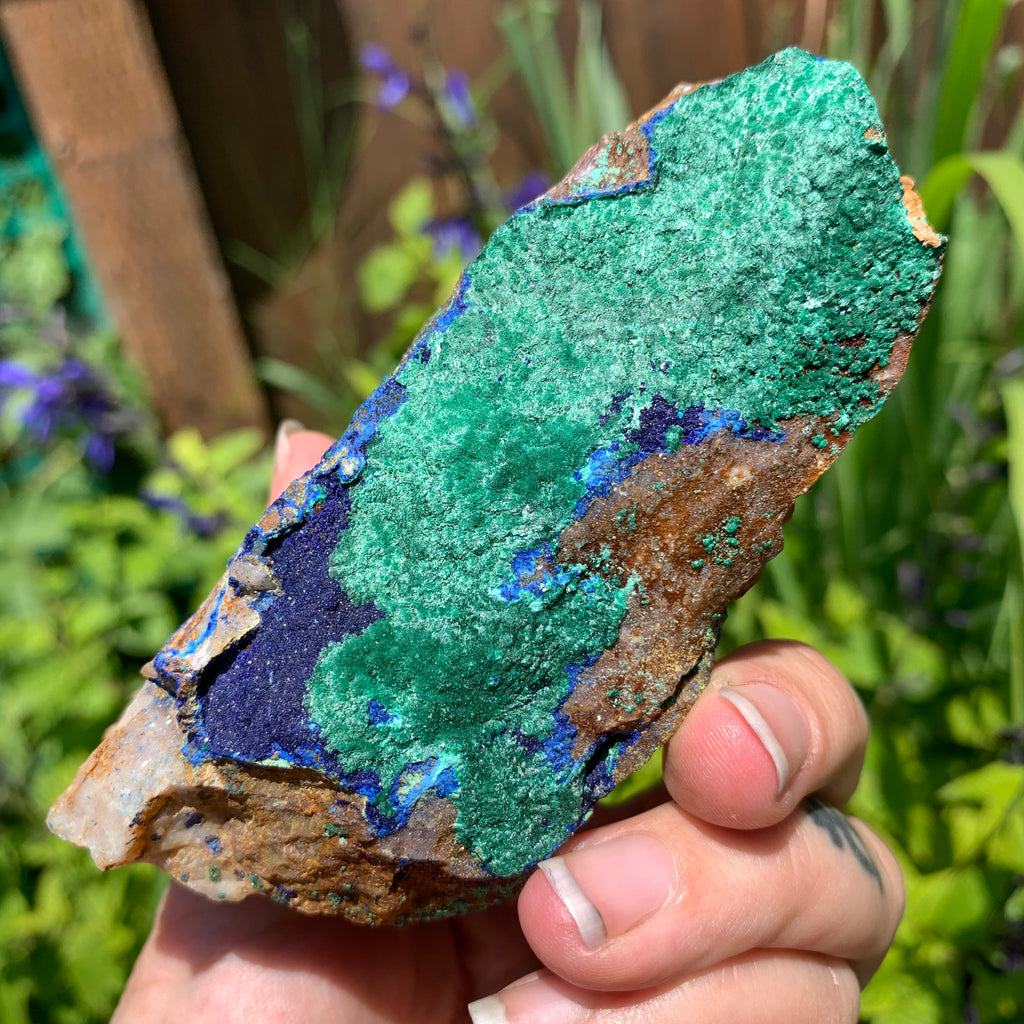 Azurite & Malachite for old memory, deep release & integration