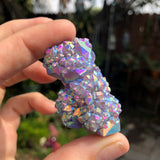 Rainbow Aura Amethyst flower no.1