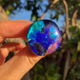 Dichroic glass ring no.3
