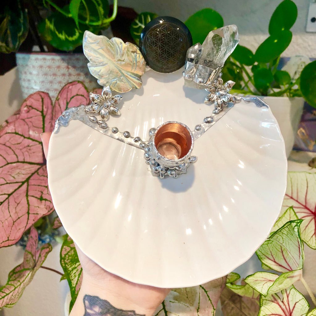 Venus Offering shell dish no.2