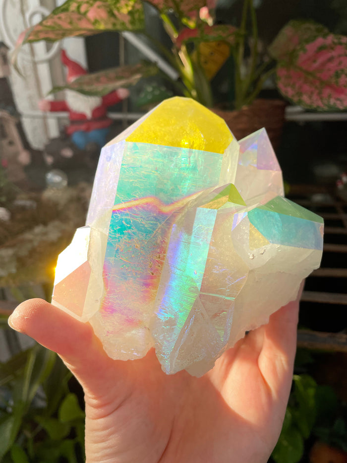 Aura Quartz Cluster no.1