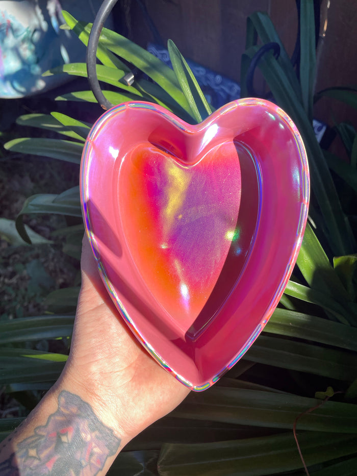 Aurafied Pink Ceramic heart