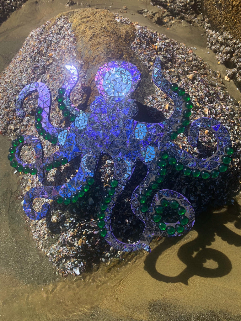 Large Mosaic Octopus