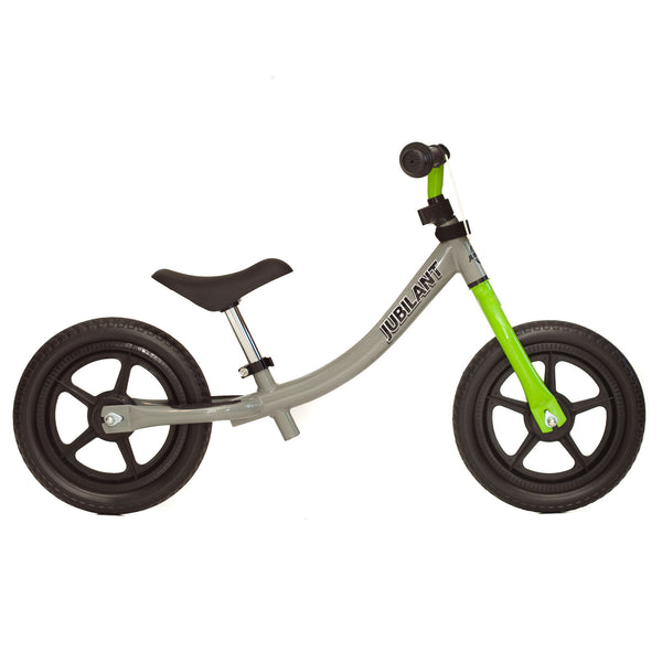 Balance Bike (Grey/Green)