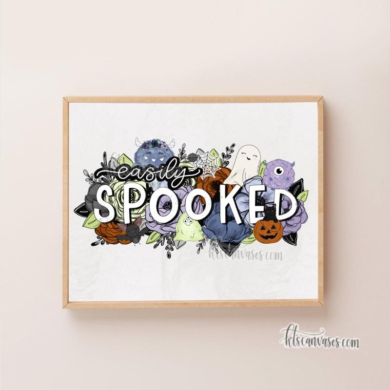 Easily Spooked Art Print