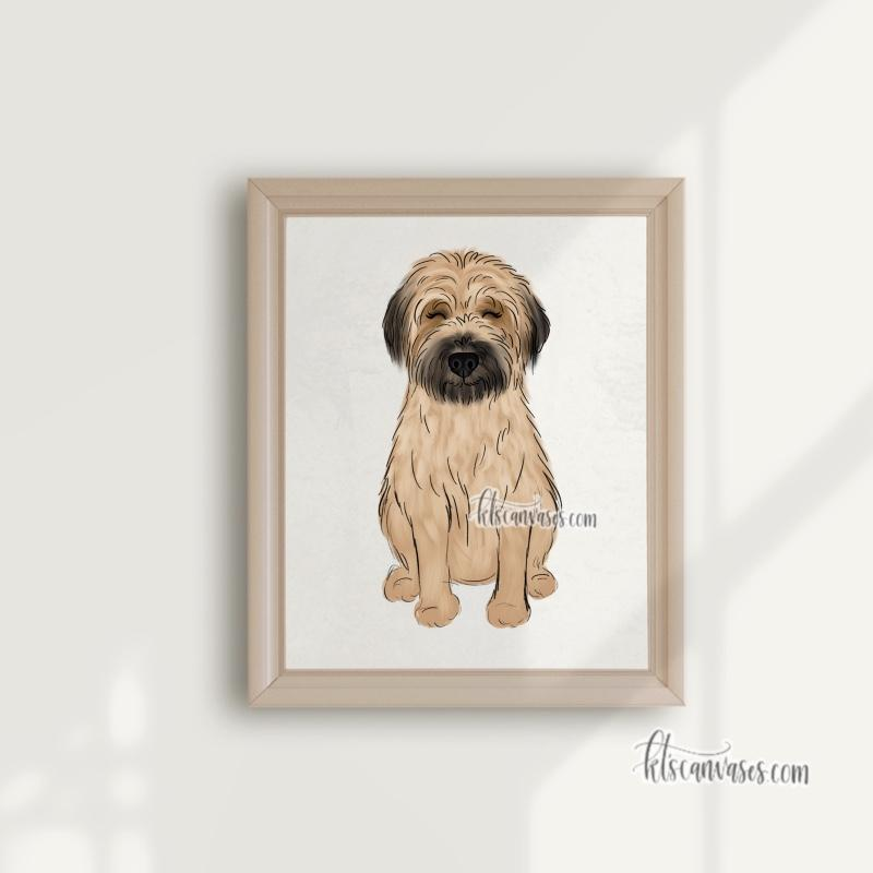 Choose Your WHEATEN TERRIER Art Print