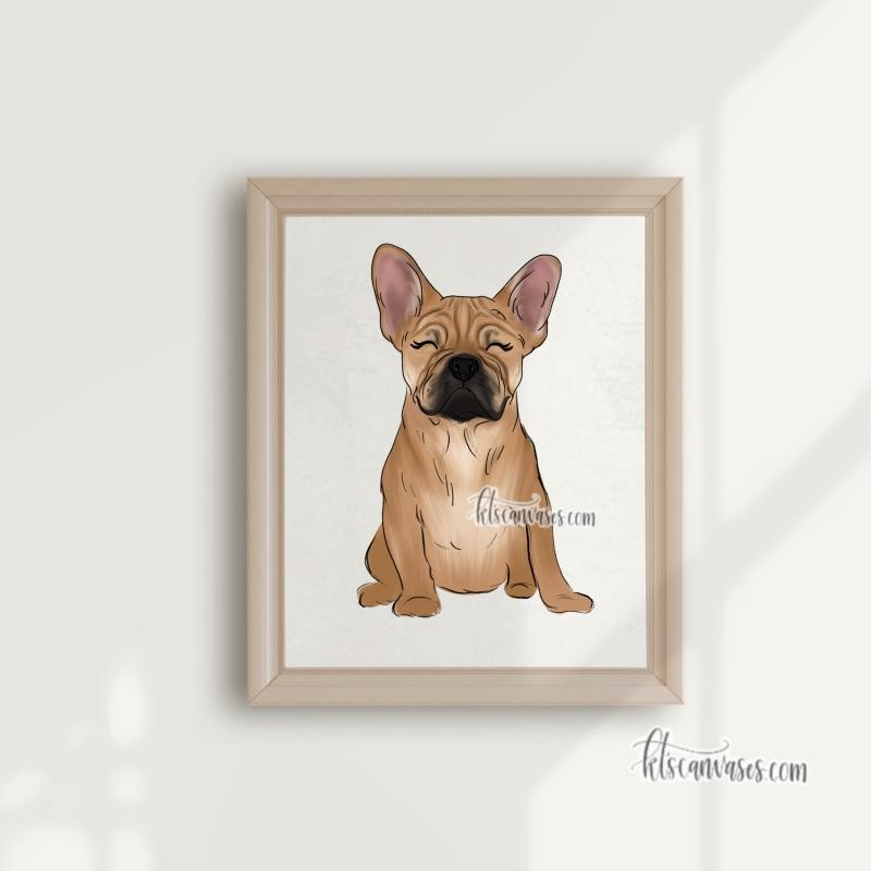 Choose Your FRENCH BULLDOG Art Print