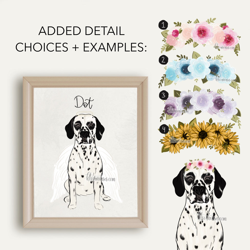 Choose Your DALMATION Art Print