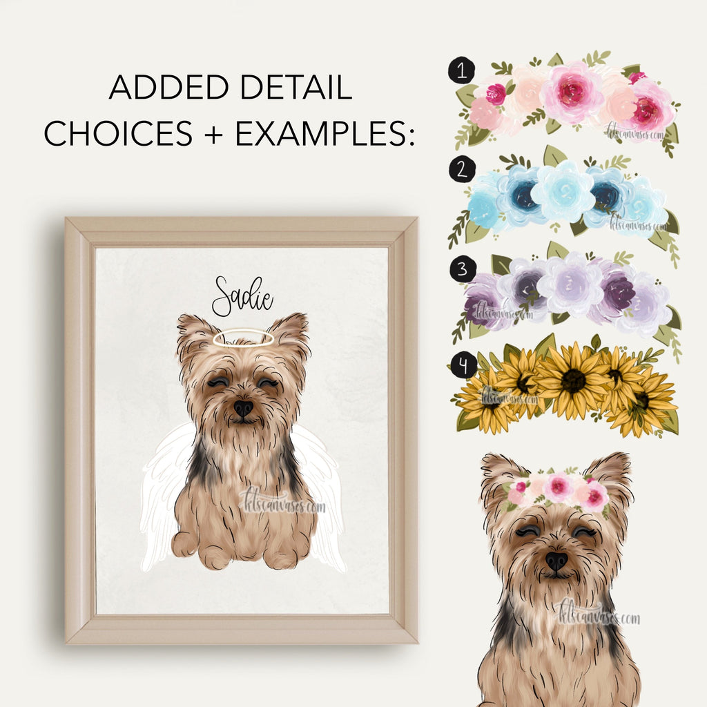 Choose Your YORKIE Art Print