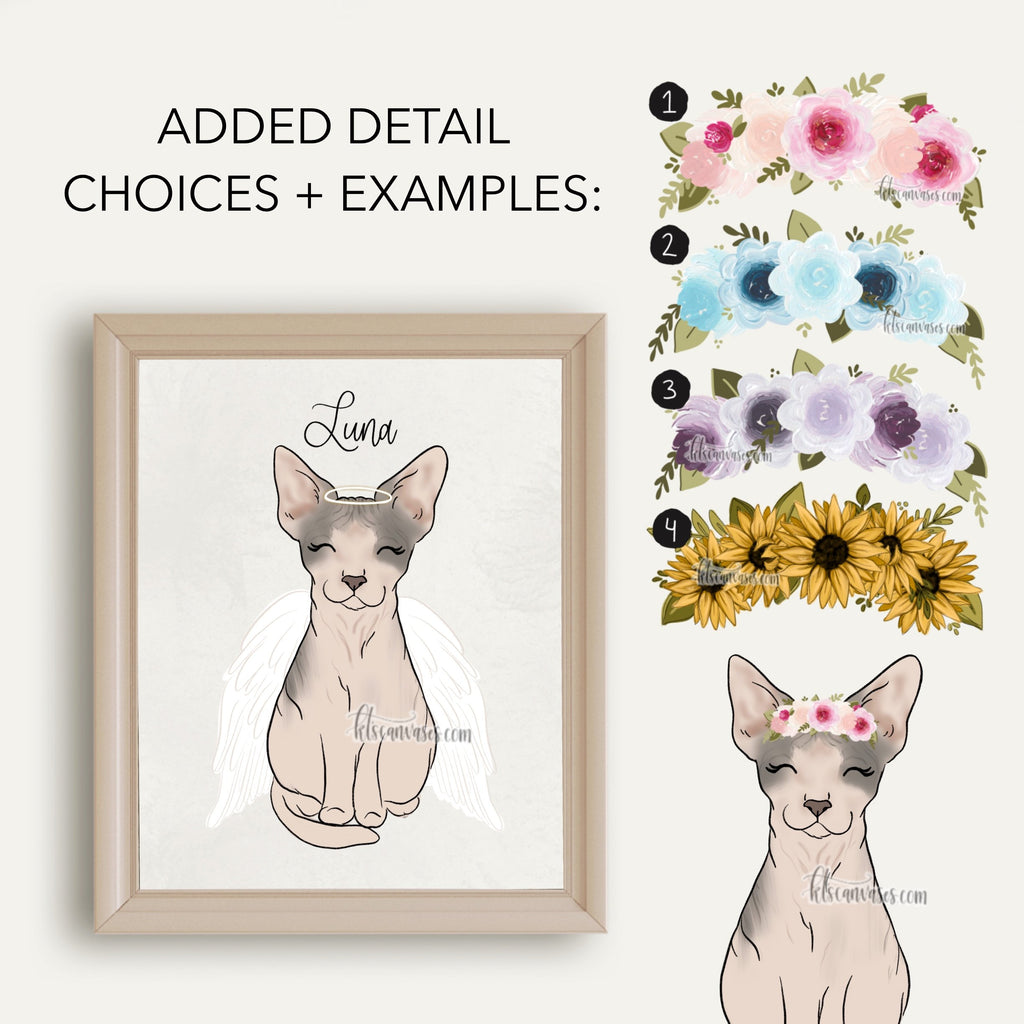 Choose Your SPHNYX CAT Art Print