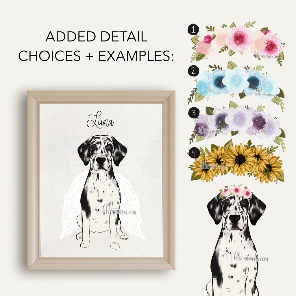 Choose Your GREAT DANE Art Print