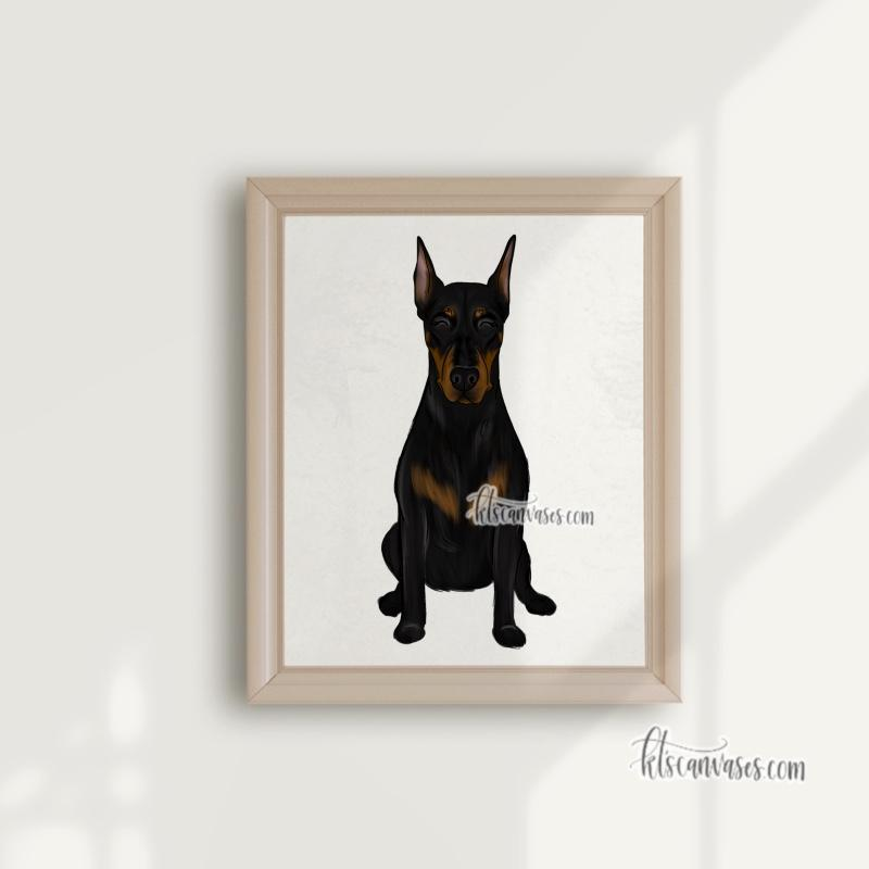 Choose Your DOBERMAN Art Print