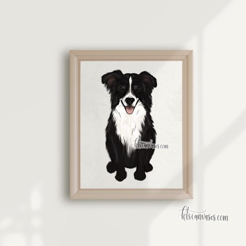 Choose Your BORDER COLLIE Art Print