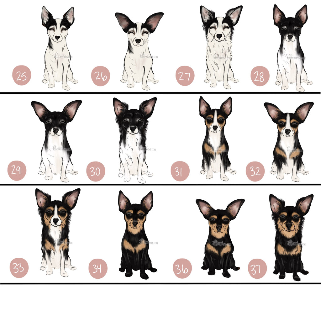 Choose Your CHIHUAHUA Art Print