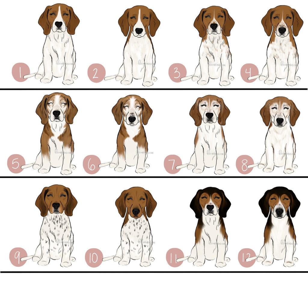 Choose Your BEAGLE Art Print