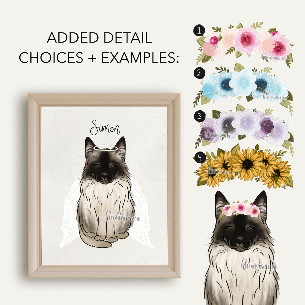 Choose Your SIAMESE CAT Art Print