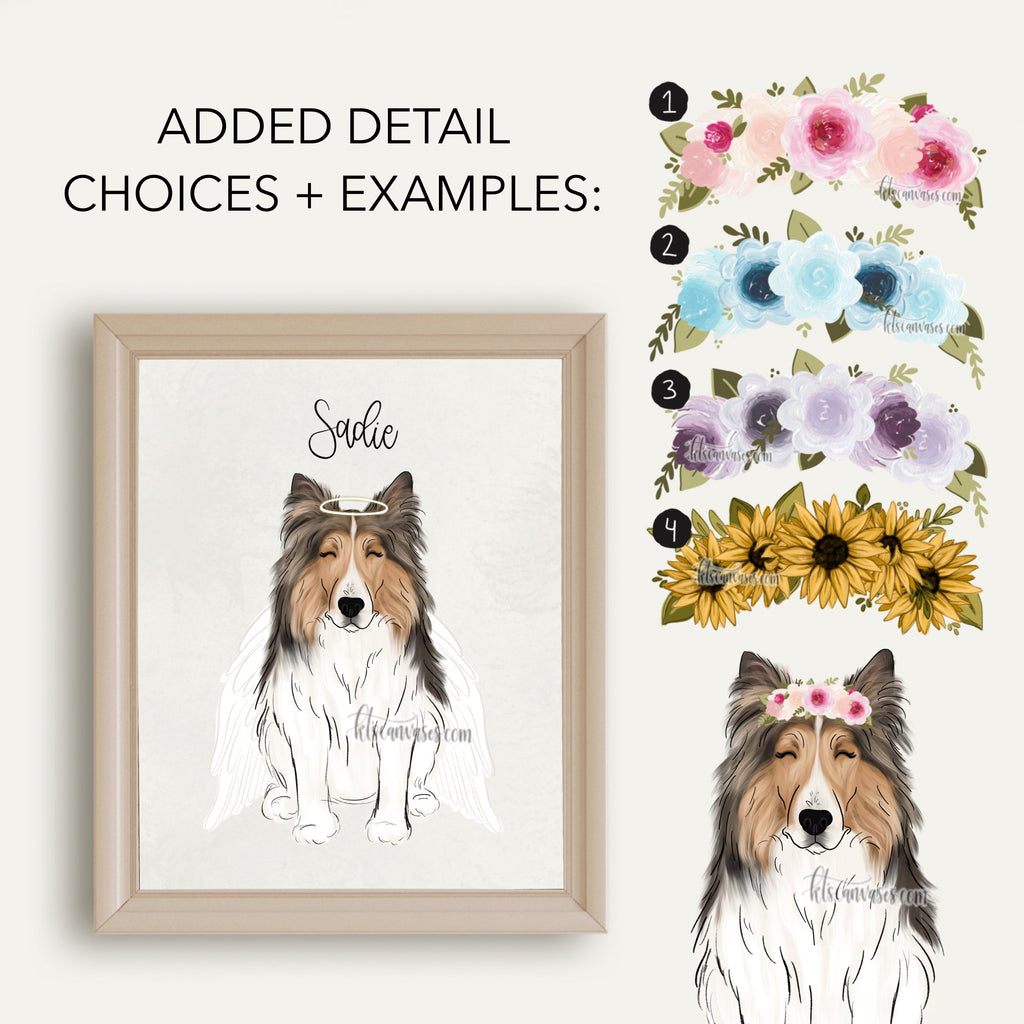 Choose Your SHELTIE Art Print
