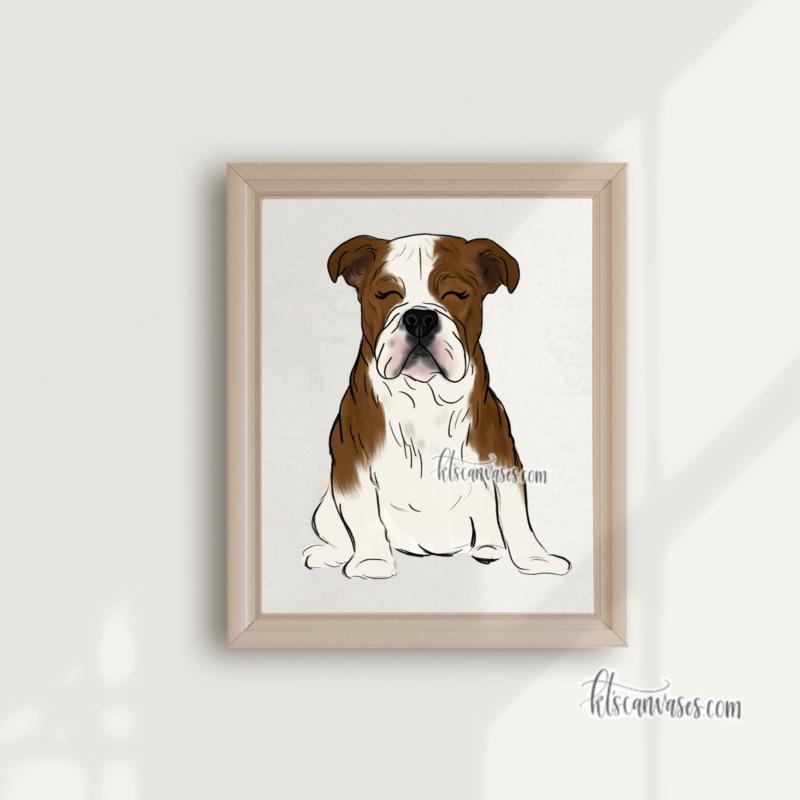 Choose Your BULLDOG Art Print
