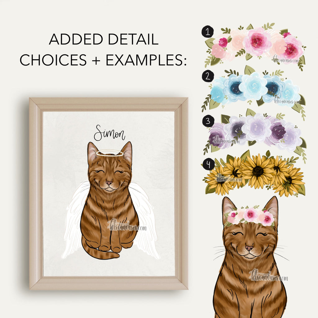 Choose Your ORANGE CAT Art Print