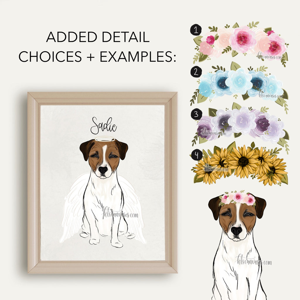 Choose Your JACK RUSSELL Art Print