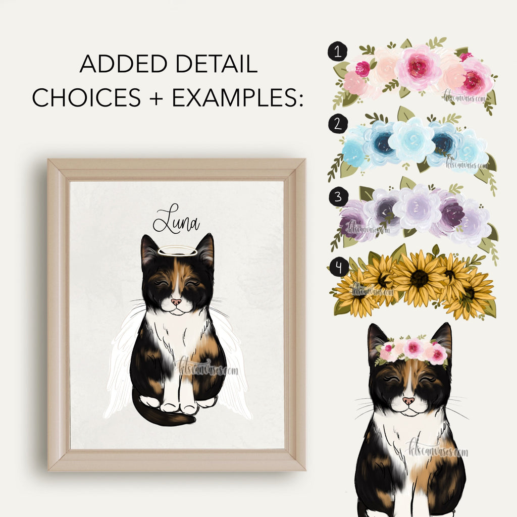 Choose Your CALICO CAT Art Print