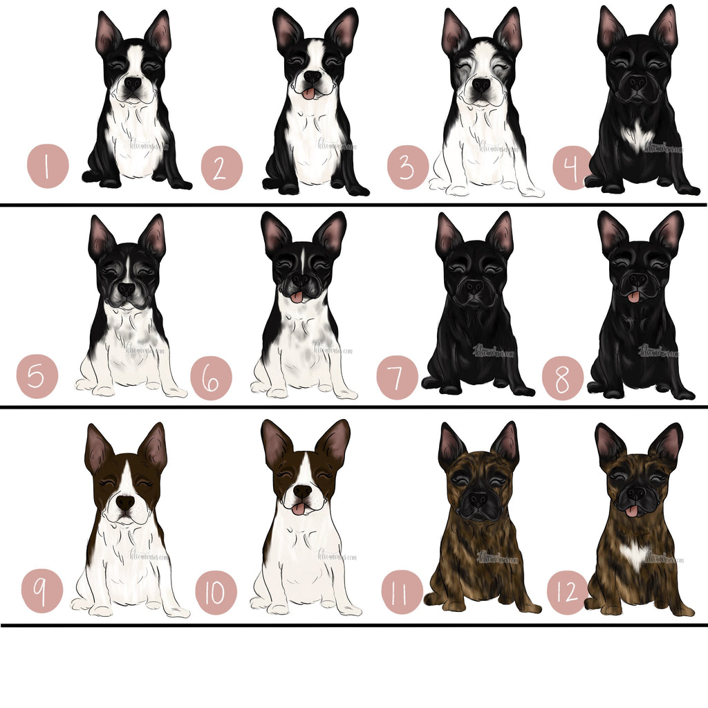 Choose Your BOSTON TERRIER Art Print