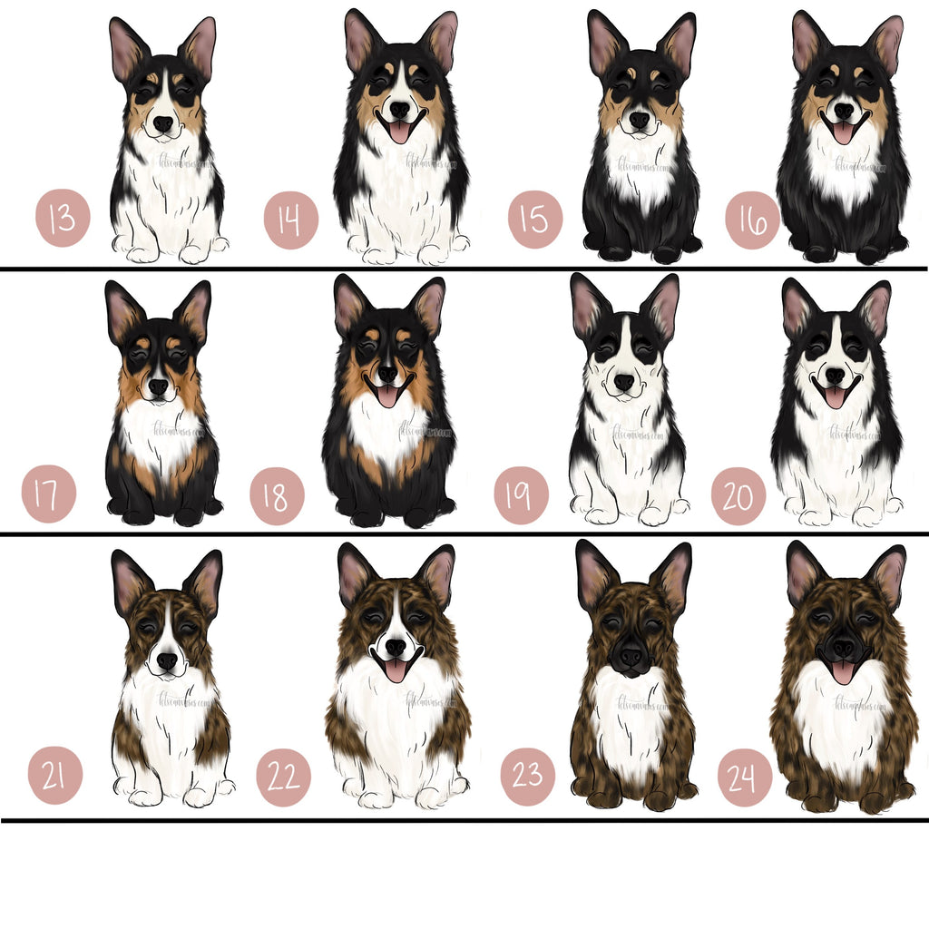 Choose Your CORGI Art Print