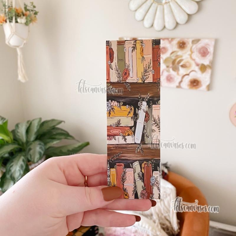 Bookshelf Garden Double Sided Bookmark