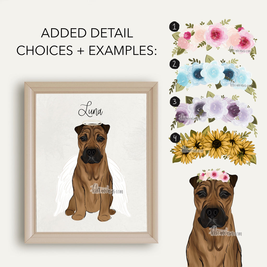 Choose Your SHAR PEI Art Print