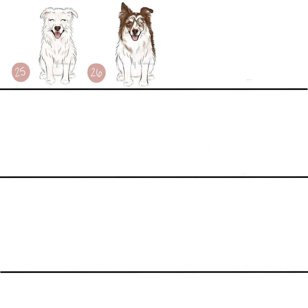 Choose Your AUSTRALIAN SHEPHERD Art Print