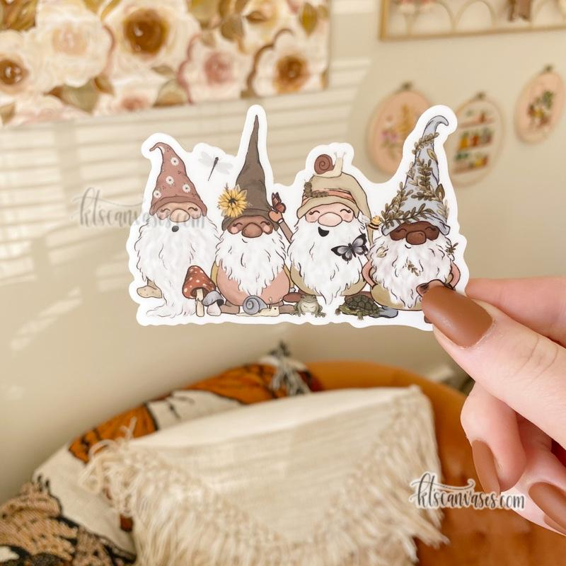 Garden Gnomes Sticker