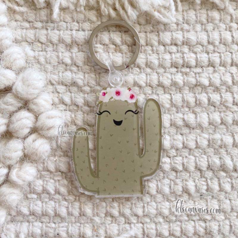Cactus Keychain 2.5 in.