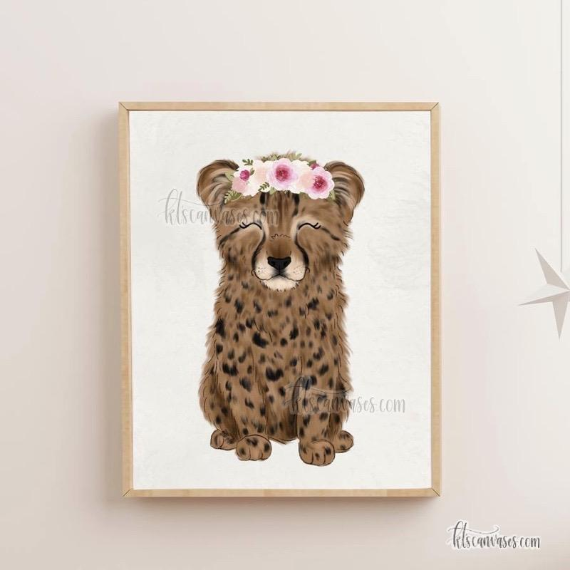 Baby Cheetah Art Print