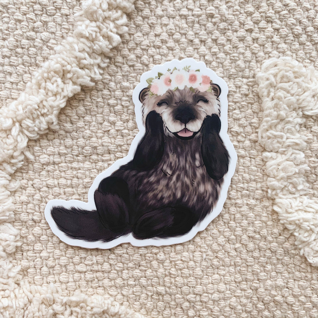 Baby Otter Sticker