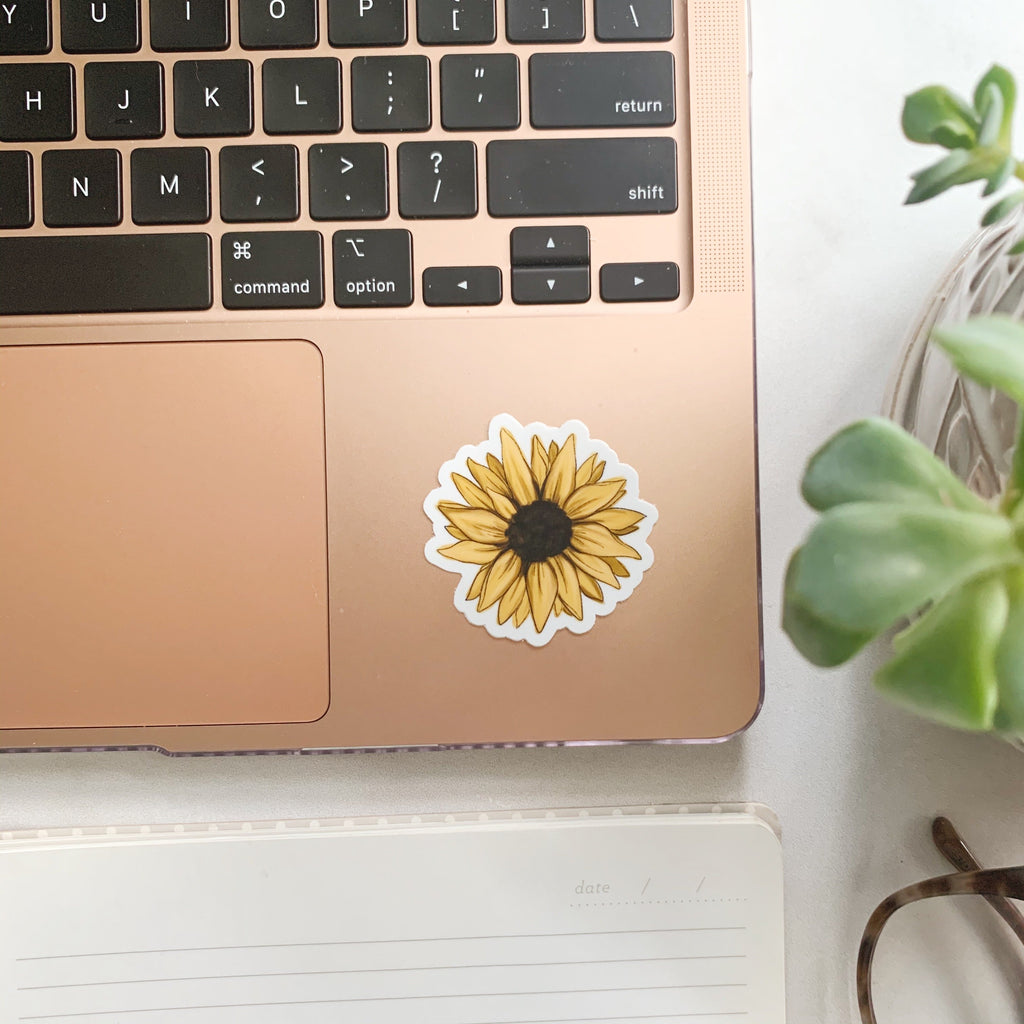 Mini Sunflower Sticker