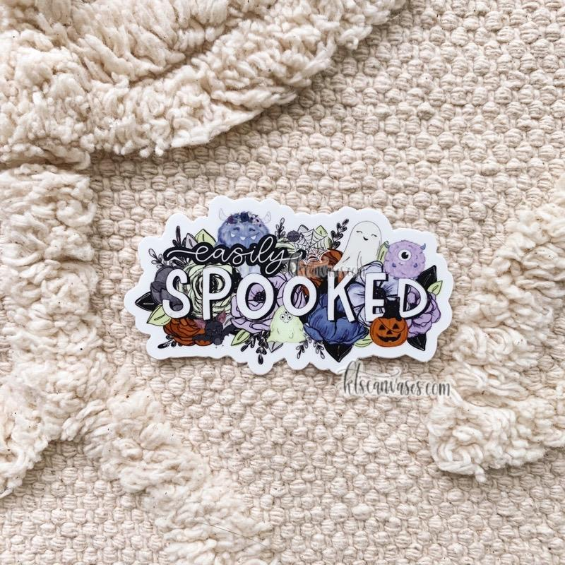 Easily Spooked Sticker