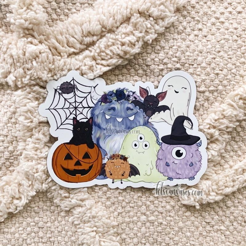 Spooky Season Friends MAGNET