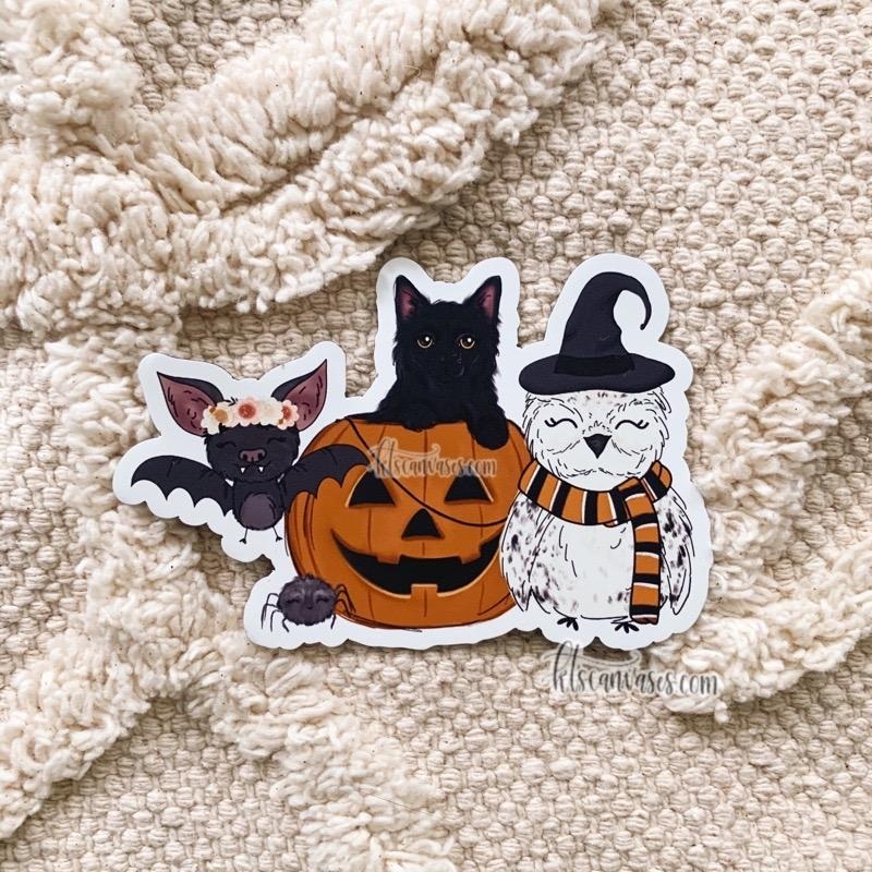 Spooky Friends MAGNET
