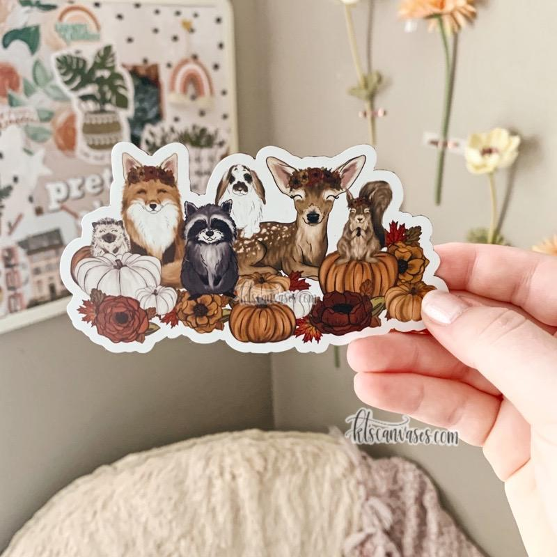 Fall Babies MAGNET