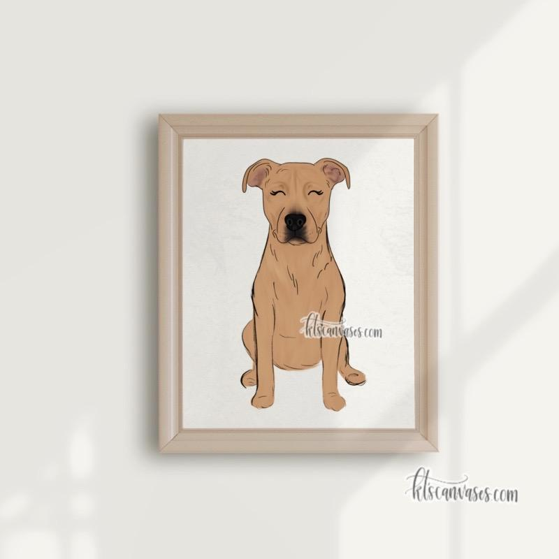 Choose Your PIT BULL Art Print