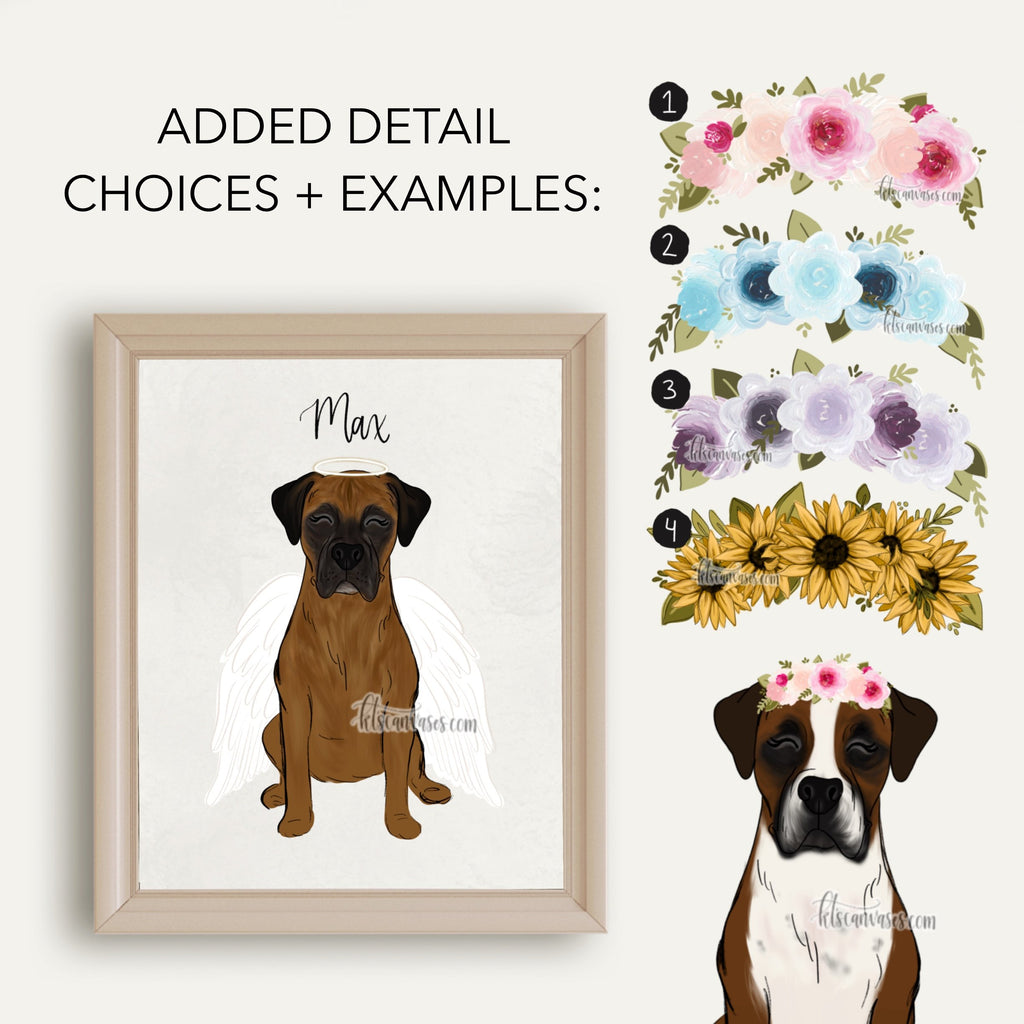 Choose Your BOXER Art Print